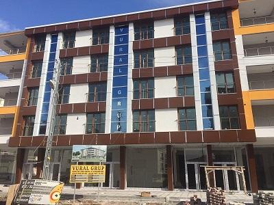 Apartman Cephe Alüminyum Panel Uygulaması